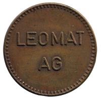 """Игровой жетон """"Leomat AG""""."""