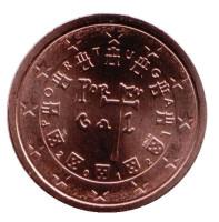 Монета 2 цента. 2012 год, Португалия.