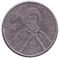 Константин Брынковяну. Монета 1000 лей. 2002 год, Румыния.