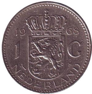 1 гульден нидерланды 1968 монета 1 гривна 1992 года цена украина