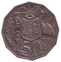 Монета 50 центов. 1999 год, Австралия.