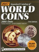 Каталог Краузе по всем монетам мира с 2001 года по настоящее время. 11-е издание, 2016 год.