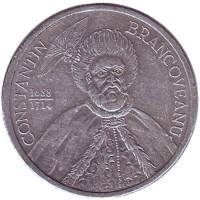 Константин Брынковяну. Монета 1000 лей. 2001 год, Румыния.