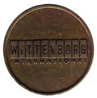 Wittenborg. Сувенирный жетон, Нидерланды.