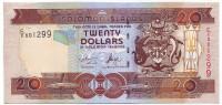 Банкнота 20 долларов. 2004-2011 гг., Соломоновы острова. Тип 1.