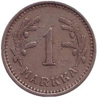 1 марка. 1936 год, Финляндия.