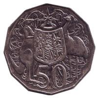 Монета 50 центов. 2012 год, Австралия.