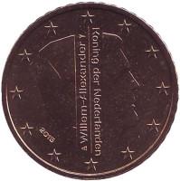 Монета 50 евроцентов. 2015 год, Нидерланды.