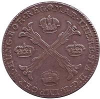 Монета 1 талер. 1778 год, Австрийские Нидерланды.