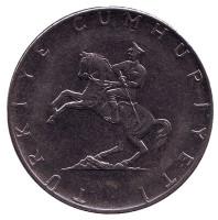 Монета 5 лир. 1979 год, Турция.