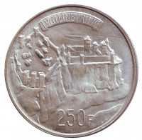 1000-летие Люксембурга. Монета 250 франков. 1963 год, Люксембург.