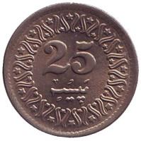 Монета 25 пайсов. 1994 год, Пакистан. UNC.