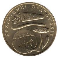 Кшеменки Опатовские. Монета 2 злотых, 2012 год, Польша.