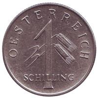 Монета 1 шиллинг. 1934 год, Австрия.
