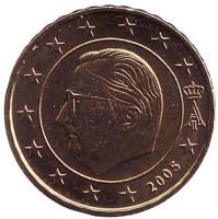 Монета 10 центов. 2005 год, Бельгия.
