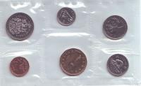 Банковский набор монет Канады. (6 шт), 1993 год.