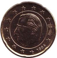 Монета 20 центов. 2006 год, Бельгия.