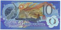 Миллениум. Банкнота 10 долларов. 2000 год, Новая Зеландия.