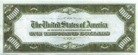 Гровер Кливленд. Сувенирная банкнота 1000 долларов США.