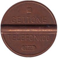 Телефонный жетон. 7803. Италия.