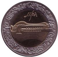 Лира. Монета 5 гривен, 2004 год, Украина.