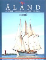 Аландские острова. Набор монет Финляндии (8 шт., с маркой). 2006 год, Финляндия.