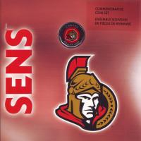 "Хоккейный клуб ""Оттава Сенаторз"". Годовой набор монет Канады. (7 шт.), 2008 год, Канада."