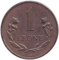 Монета 1 крона. 1960 год, Гренландия.