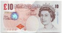 Чарльз Дарвин. Банкнота 10 фунтов. 2000 год, Великобритания.