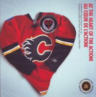 "Хоккейный клуб ""Калгари Флэймз"". Годовой набор монет Канады. (7 шт.), 2009 год, Канада."