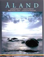 Аланды. Исторические регионы Финляндии. Монета 5 евро в буклете., с маркой. 2011 год, Финляндия. (Пруф)