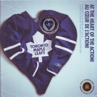 """Хоккейный клуб """"Торонто Мейпл Лифс"""". Годовой набор монет Канады. (7 шт.), 2009 год, Канада."""