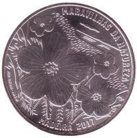 Мадейра. Монета 7,5 евро. 2017 год, Португалия.