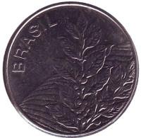 Кофе. Монета 5 крузейро. 1984 год, Бразилия.