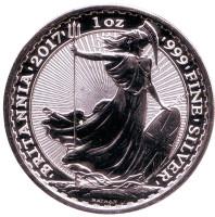 Символ Британии. Монета 2 фунта. 2017 год, Великобритания.