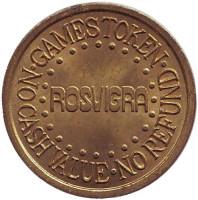 """Игровой жетон """"Rosvigra"""". (Вар. II)"""