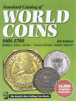 Каталог Краузе по всем монетам мира с 1601 по 1700 год (17 век). 6-е издание.