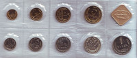 Годовой набор монет СССР 1988 года, с жетоном. В запайке.