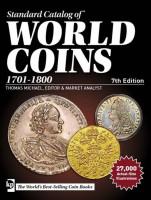 Каталог Краузе по всем монетам мира с 1701 по 1800 год (18 век). 7-е издание.
