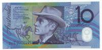 Банкнота 10 долларов. 1998 год, Австралия.
