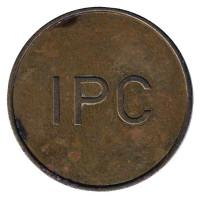 IPC. (Inepro Paymatic Company). Жетон для оплаты душа или прачечной. (Без точек)