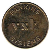 VNK. Parking systems. Парковочный жетон.