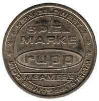 Spiel marke. Play token. Rupp. Игровой жетон, Германия.