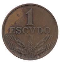 Монета 1 эскудо. 1978 год, Португалия.