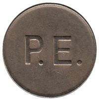 P.E. Игровой жетон, Великобритания.