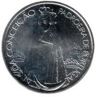 350 лет статуе Божьей Матери. Монета 1000 эскудо, 1996 год, Португалия.