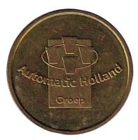 Automatic Holland. Croep. Жетон кофейного автомата. Нидерланды. (Диаметр 20 мм).