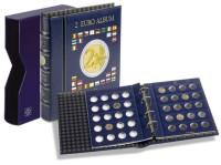 """Альбом для монет номиналом 2 евро, с листами. Формат """"VISTA"""", пр-во Leuchtturm."""