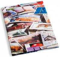 Альбом для почтовых марок, формат А4, 32 страницы черного цвета. Производство Leuchtturm.