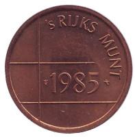 Жетон Нидерландского монетного двора. 1985 год.